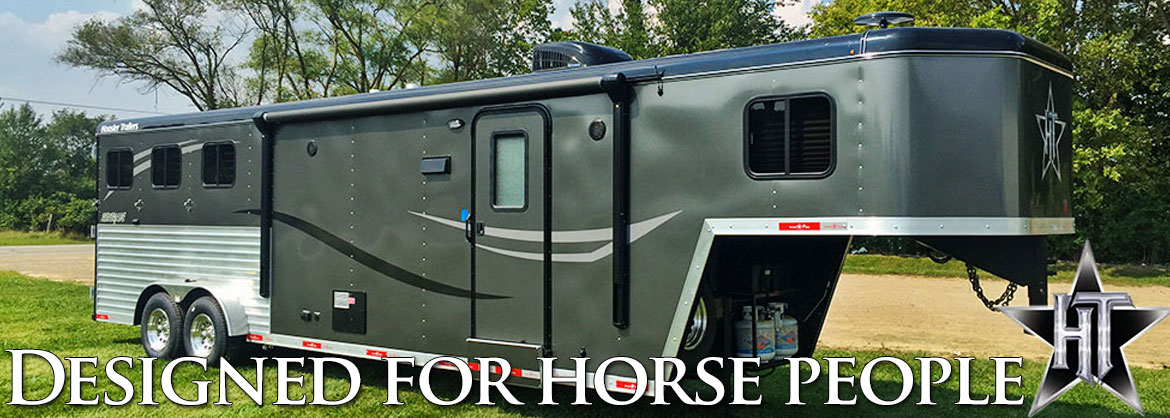 Hoosier Trailers - Built by horse people for horse people