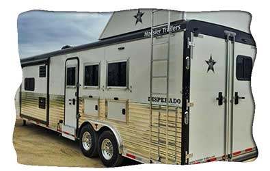 Hoosier Trailers Living Quarters and Horse Trailer Manufacturer